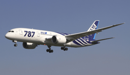 ANA B787エンジン部品に欠陥が見つかり1日10便欠航