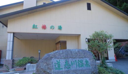 道志川温泉紅椿の湯「べにつばきのゆ」に行ってきました!
