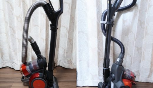 サイクロン掃除機トルネオVとプチサイクロンを購入して比較してみました