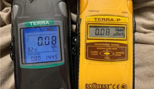 線量計(放射線測定器)ECOTEST MKS-05 TERRA のシリーズ比較